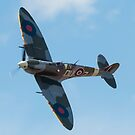 Flying Heritage Collection - Supermarine Spitfire by Rick Nicholas