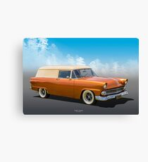 50s Delivery Canvas Print