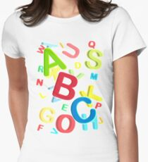 ABC Women's Fitted T-Shirt