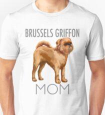 Brussels Griffon Mom Dog  Unisex T-Shirt