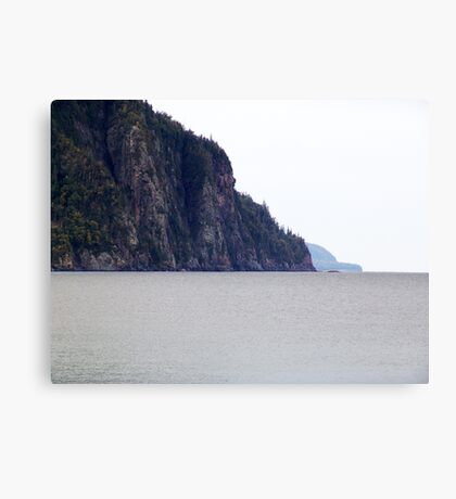The Cliffs-Old Woman Bay Canvas Print