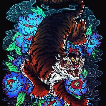 IREZUMI TRIQUETRUS: Tiger King Ashura by the-fairweather