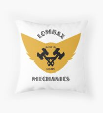 Ratchet & Clank lombax mechanics Throw Pillow