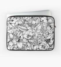 Blumen Blumenkreis Laptoptasche