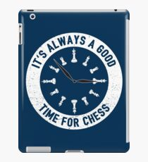 Always A Good Time For A Game Of Chess - Cool Chess Club Gift iPad-Hülle & Klebefolie
