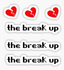 MGK// The Break Up Sticker