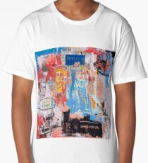 Basquiat Style 2 Long T-Shirt