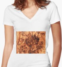 Surface Women's Fitted V-Neck T-Shirt