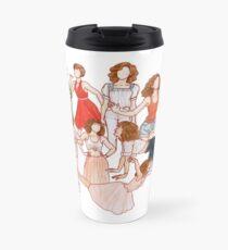 Nobody puts baby in a corner Mug de voyage