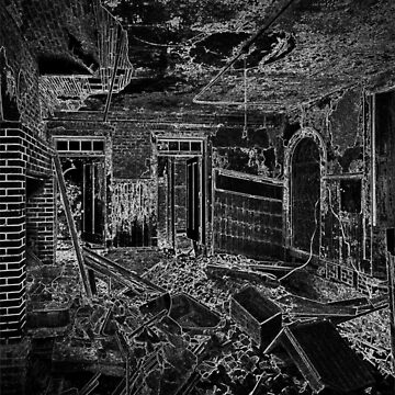 Abandoned Building Interior by procrest