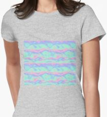 Funky Holographic Effect Women's Fitted T-Shirt