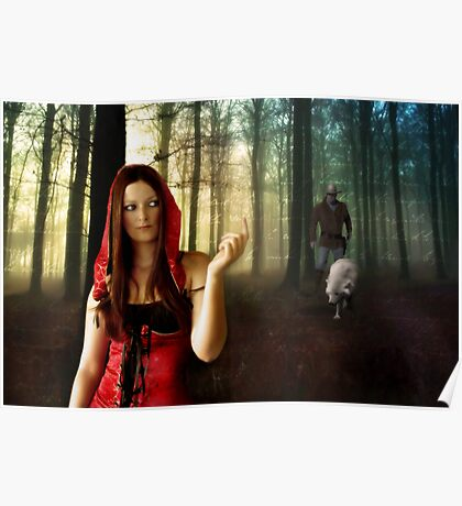 Lil Red Riding Hood Poster