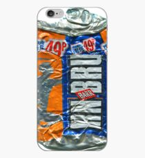 IrnBru - crushed tin iPhone Case