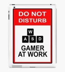 Gamer At Work - PC iPad Case/Skin