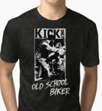 Kick Only - Old School Biker Vintage T-Shirt