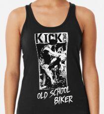 Kick Only - Old School Biker Racerback Tank Top