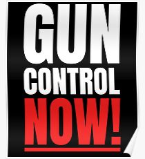 Gun control now Poster