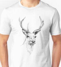 Deer Antlers Stag Head Unisex T-Shirt