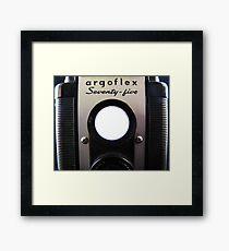 Argoflex Seventy Five Framed Print