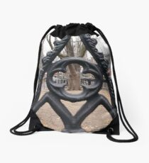 Pattern Drawstring Bag