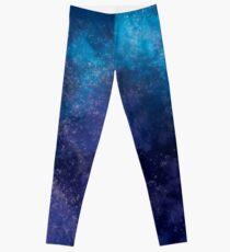Legging Galaxy azul y púrpura