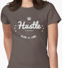 Hustle Athletics Black Label Womens Fitted T-Shirt