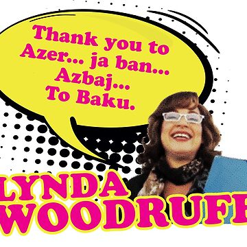 Eurovision: Lynda Woodruff (Baku) by zenorac7