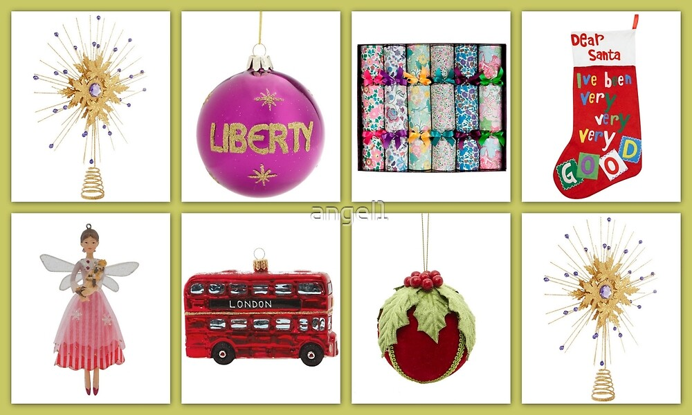 Liberty Xmas selection by ©The Creative  Minds