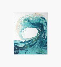 Ocean Wave Art Print Picture - Turquoise Sea Surf Beach Decor  Art Board