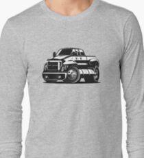 Cartoon pick-up Long Sleeve T-Shirt