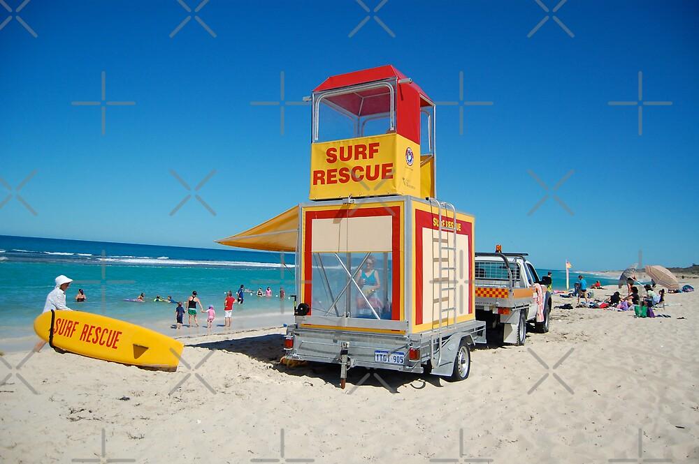 Australian Beach Scene by Hayley Solich