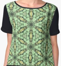 Mysterious vision | Seamless pattern Chiffon Top