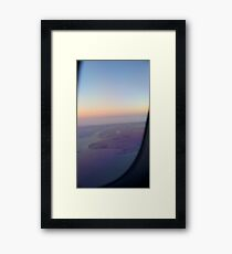 The World Down Below Framed Print