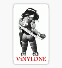 Vinylone's Alita Battle Angel sticker Sticker