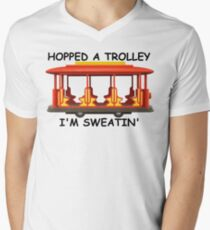 Hopped a Trolley I'm Sweatin' T-Shirt