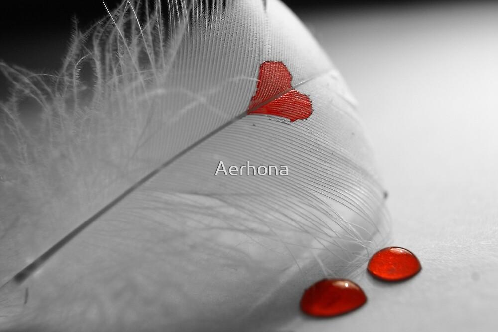 Bleeding Heart by Aerhona