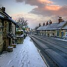 Village Snow by Dave Warren