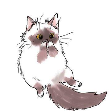 Cute cat  by itsuko