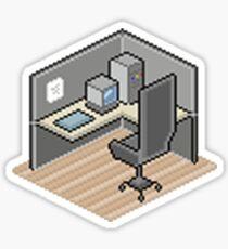 Cubicle Sticker