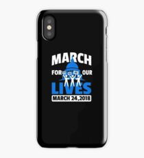 March For Our Lives End Gun Violence Call BS March 24th iPhone Case/Skin