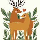Deer Love by KarinBijlsma