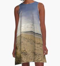 Lisfannon Beach, Fahan, County Donegal, Equirectangular  A-Line Dress