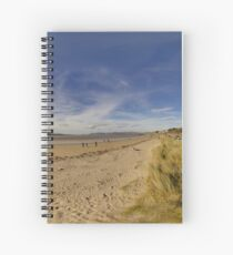 Lisfannon Beach, Fahan, County Donegal, Equirectangular  Spiral Notebook