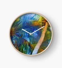 Hamoa coconuts Clock