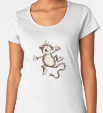 Funny Jumping Monkey Women's Premium T-Shirt