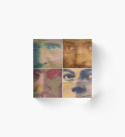 Franc Faces Acrylic Block