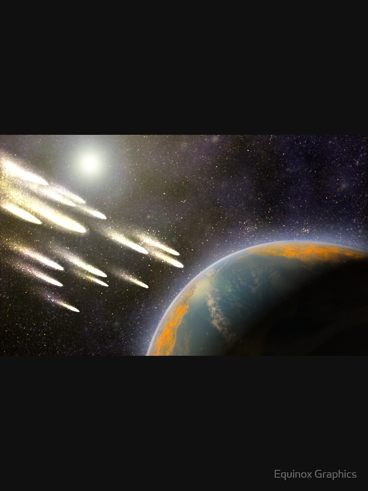 Kometenbeschuss der Erde von equinoxgraphics