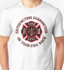 Firefighter Humor Funny Unisex T-Shirt