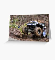 4WD competition Greeting Card