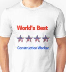 World's Best Construction Worker Unisex T-Shirt